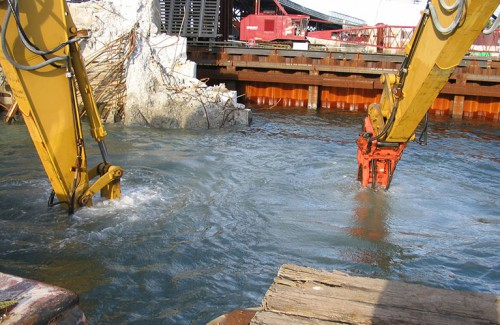 Underwater Pier and Abutment Demo