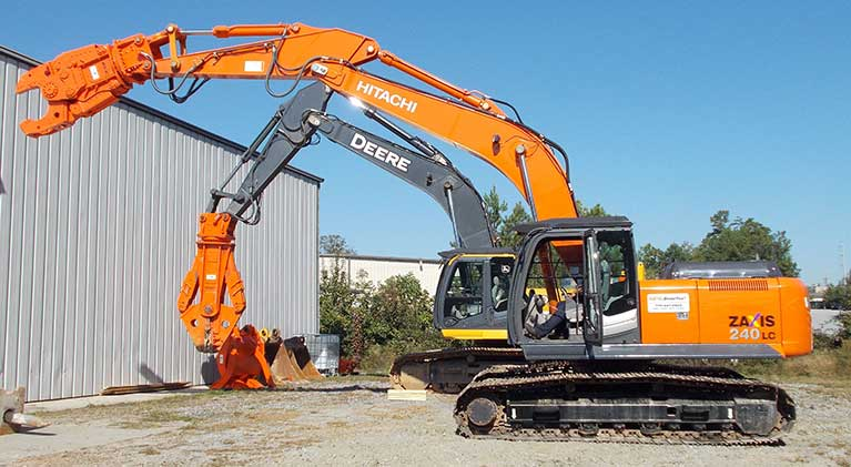 Attachment Rental - NPK DemoTrax; Atlandta, GA