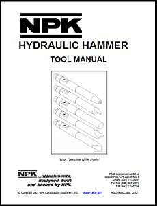 Hydraulic Hammer Tool Manual