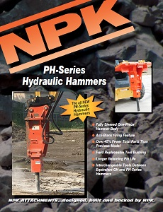 PH Series Hydraulic Hammer Sales Brochure