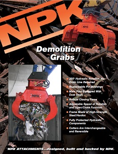 Demolition & Sorting Grab Sales Brochure