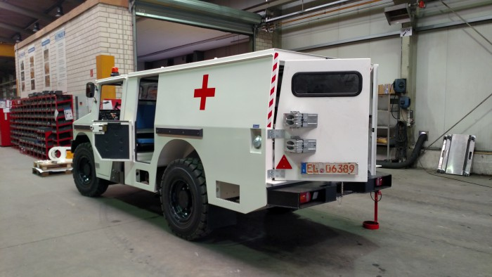 MinCa Ambulance